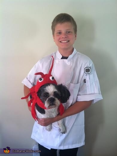 Chef with his Fresh Catch Costume