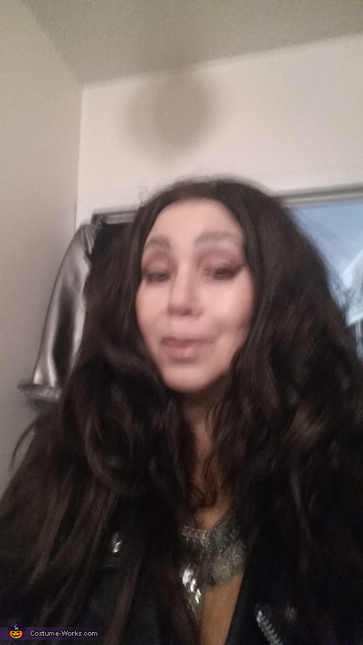 Before the make-up!, Cher Costume