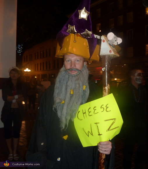 Chese Wiz and Sand Witch Homemade Costume