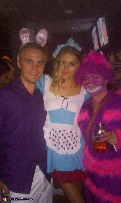 alice in wonderland, Cheshire Cat Costume