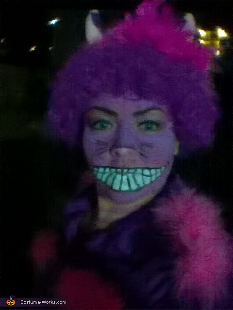 Cheshire in the dark, Cheshire Cat Costume