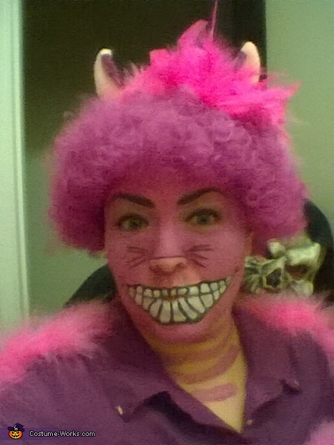 Cheshire in the light, Cheshire Cat Costume