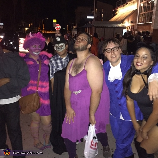 'you may have noticed that am not all there myself' -Cheshire cat, Cheshire Cat Costume