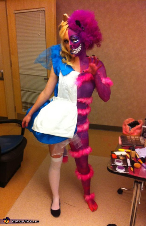 Alice/ Cheshire, Alice In Wonderland / Cheshire Cat Costume