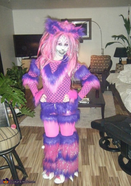 Alice in Wonderland Cheshire Cat Costume