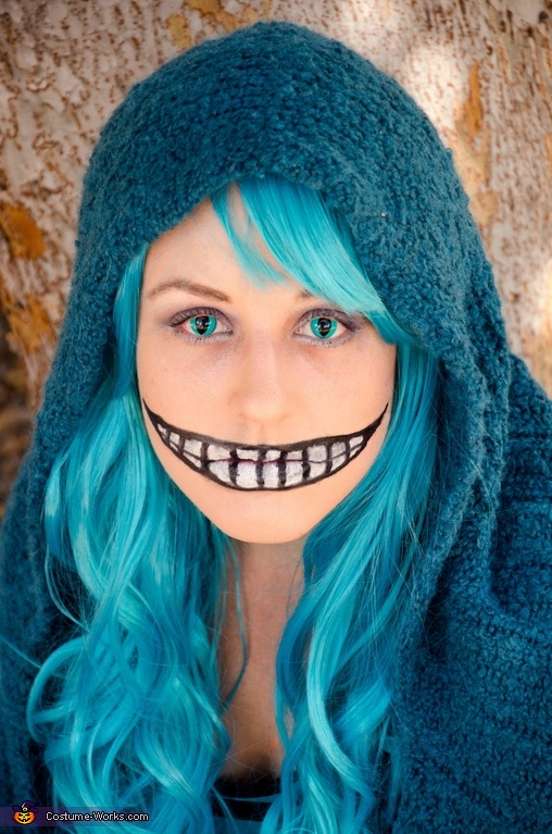 Closeup, Cheshire Cat Apocalyptic Style Costume