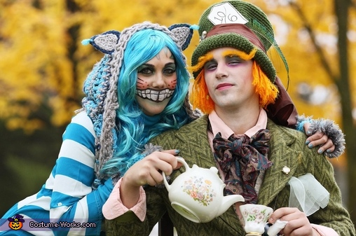 Cheshire Cat and Mad Hatter, Cheshire Cat and Mad Hatter Costume