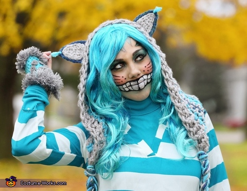 Cheshire Cat Hood, Cheshire Cat and Mad Hatter Costume
