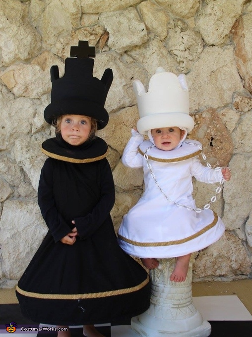 Chess King and Queen Costume