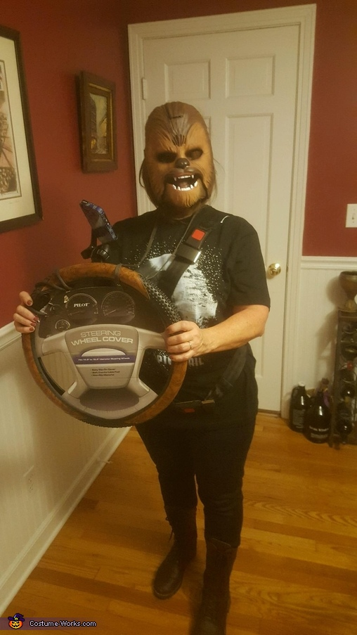 Chewbacca Mom with mask, Chewbacca Mom Costume