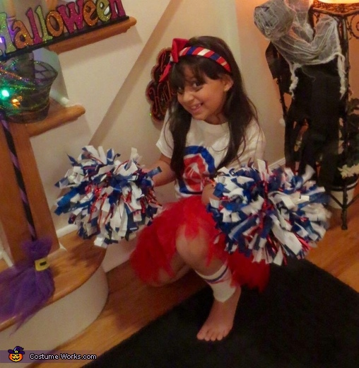 Chicago Cubs Cheerleader Costume