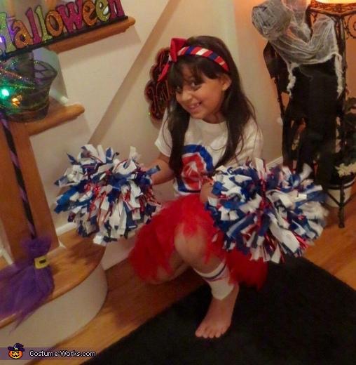 Chicago Cubs Cheerleader Costume