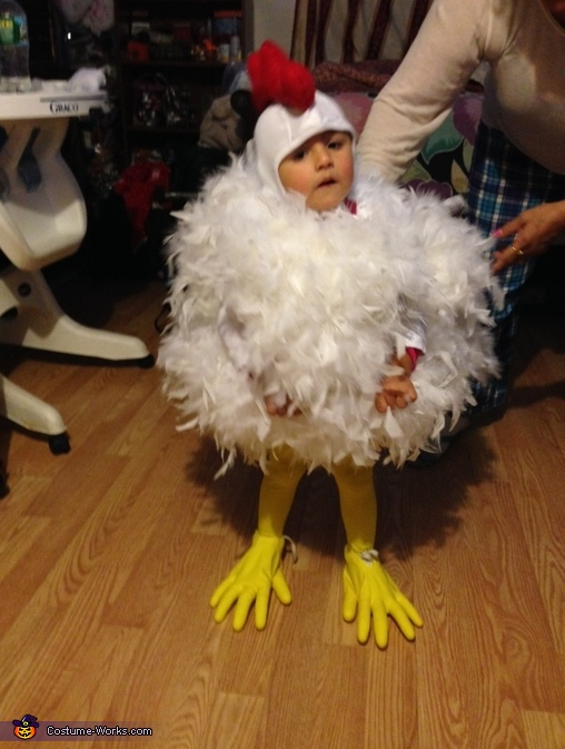 Just clucking Chloe , Chick Chick Chicken Baby Costume