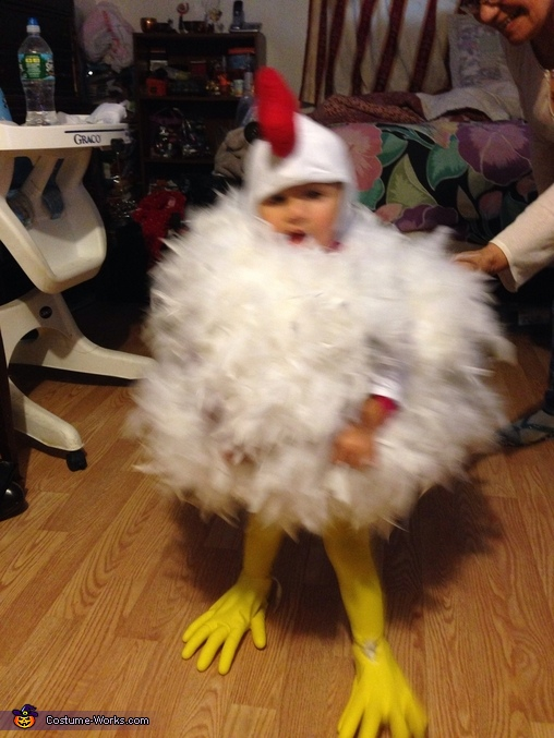 Chicken Chloe on the move , Chick Chick Chicken Baby Costume
