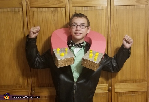 Chick Magnet Homemade Costume
