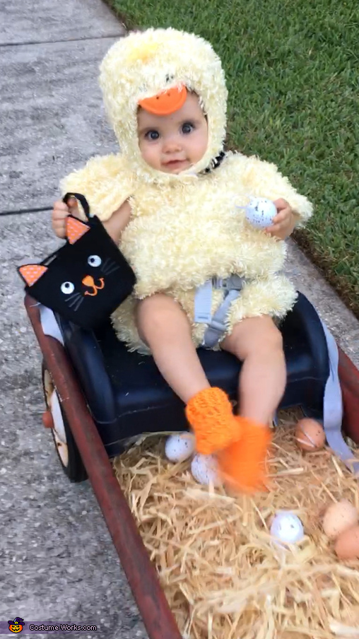 Chick on the Move Costume