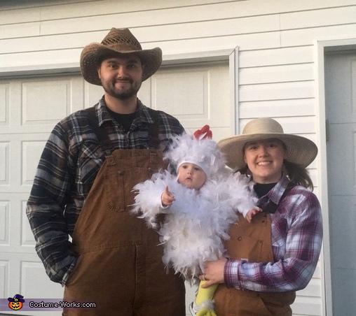 Farmers and chicken, Chicken Cuteness Costume