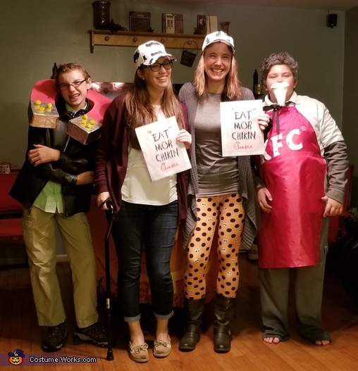 Chicken Family Costume