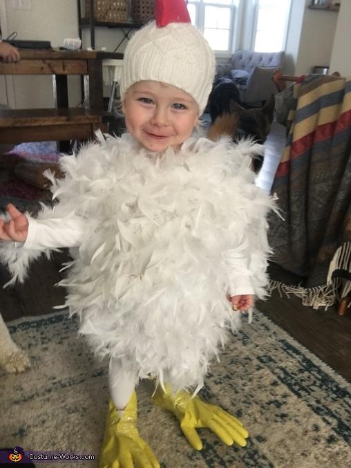 Chicken Little Homemade Costume