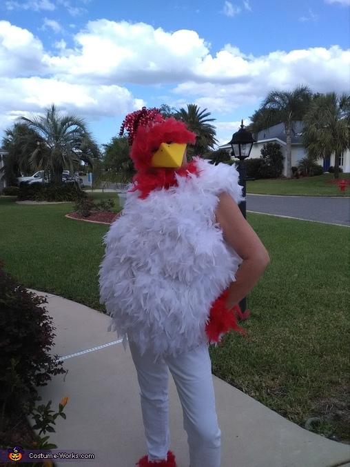 DIY Chicken Little Adult Costume - Photo 2/5