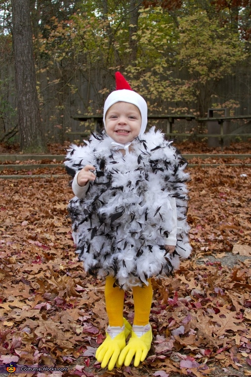 DIY Chicken Little Costume