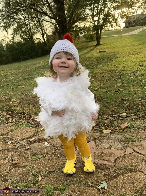 Chicken Nugget Costume