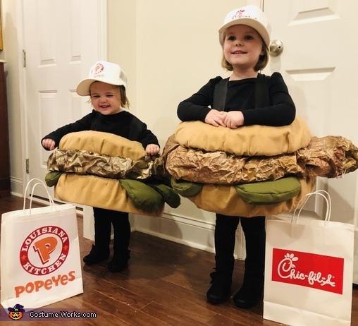 Chicken Sandwich Wars Costume