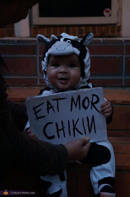 Chik-fil-A Cow Costume