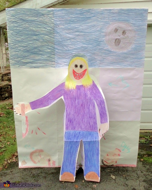Child's Drawing Costume