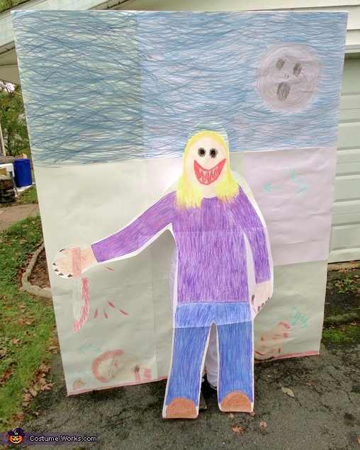 Different angle, Child's Drawing Costume