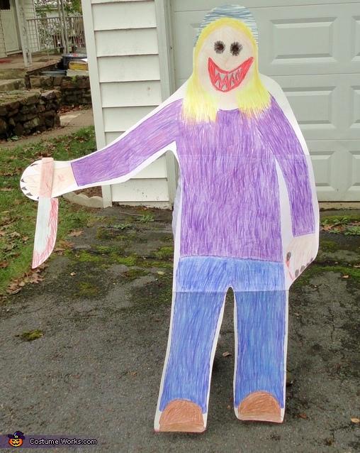 Detachable part, Child's Drawing Costume