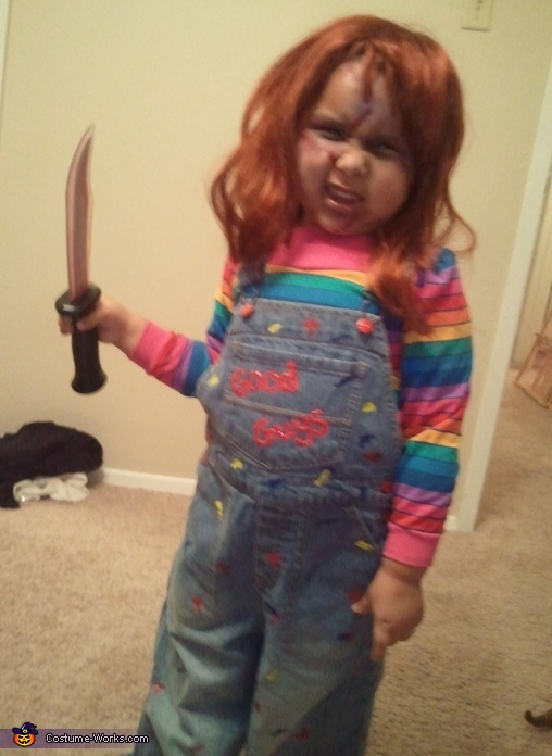 Chucky Costumes For Girls Child's Play Chucky Costume