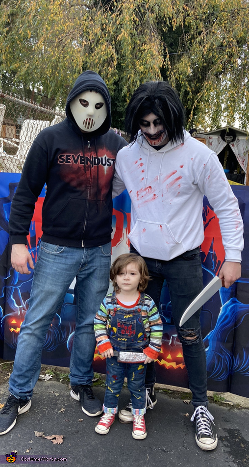 Scary Duo! Featuring Uncle Eric, Daddy and Luke, Chucky - Child's Play Costume