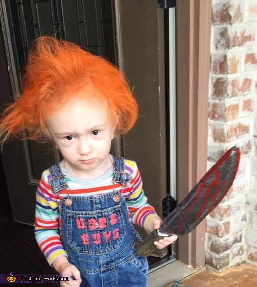 Seed of Chucky, Chucky, the Bride of Chucky and the Seed of Chucky Costume