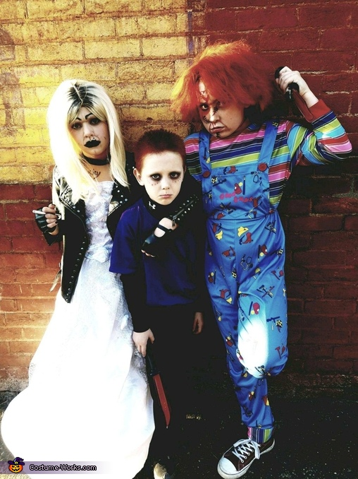 Child's Play - Tiffany, Glen and Chucky Costume