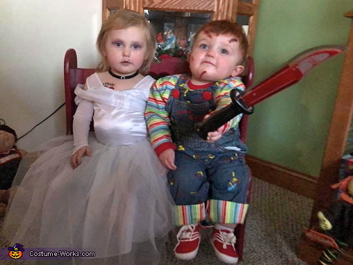 Child's Plays Chucky & Tiffany Costume