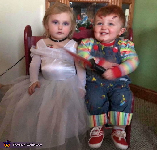 I'd kill for her!, Child's Plays Chucky & Tiffany Costume