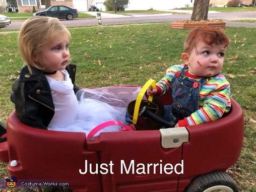 Just Married, Child's Plays Chucky & Tiffany Costume