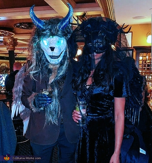 Chimera and Lady Jaguar Costume