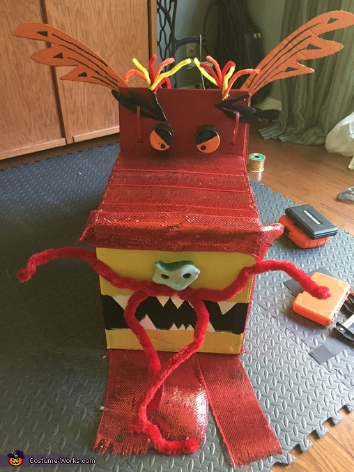 Finished dragon head, Chinese Dragon Costume