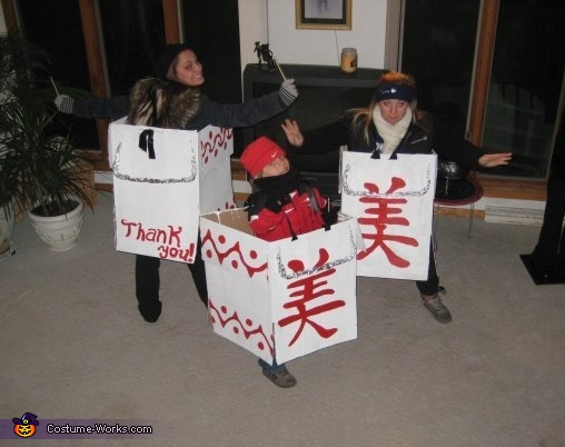 Chinese Food Take-Out Costume