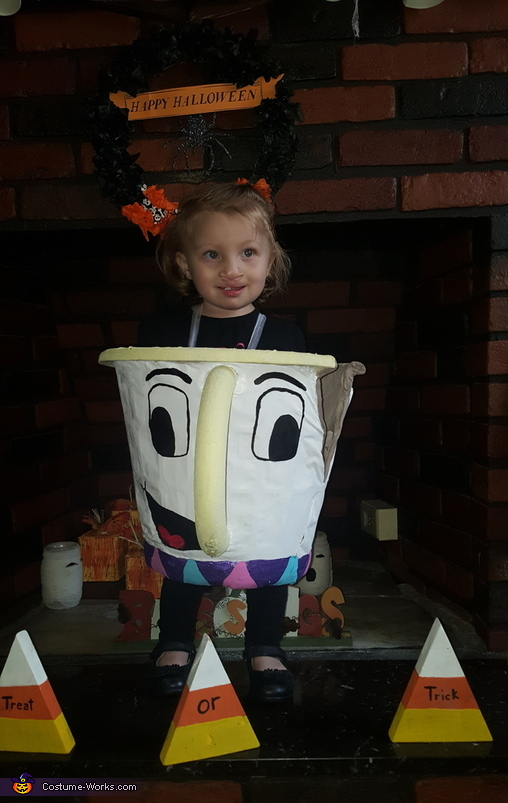 Paislee my little chip cup, Chip & Mrs. Potts Costume