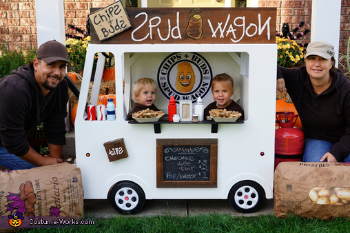 Chips + Buds Spud Wagon Family Costume