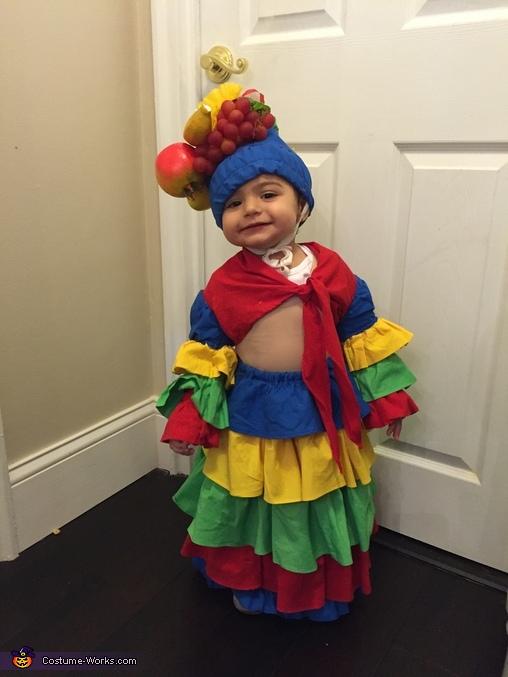 Chiquita Banana Baby Halloween Costume Photo 4 4