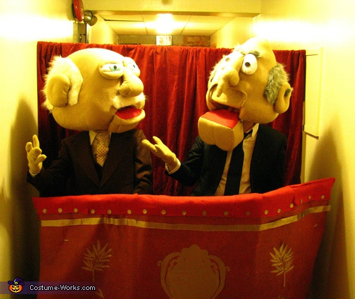 Waldorf and Statler Costume