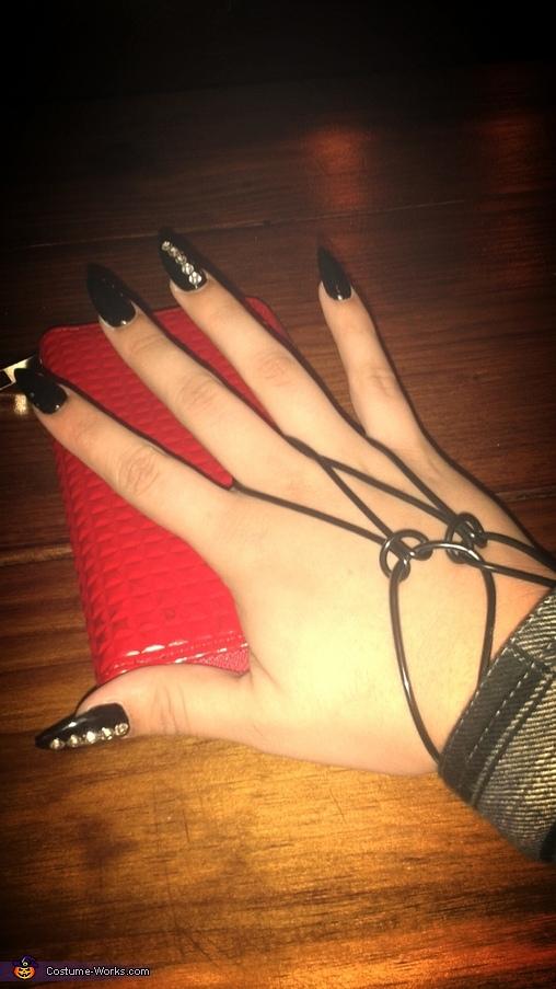 chola nails & chola bands , Chola Costume