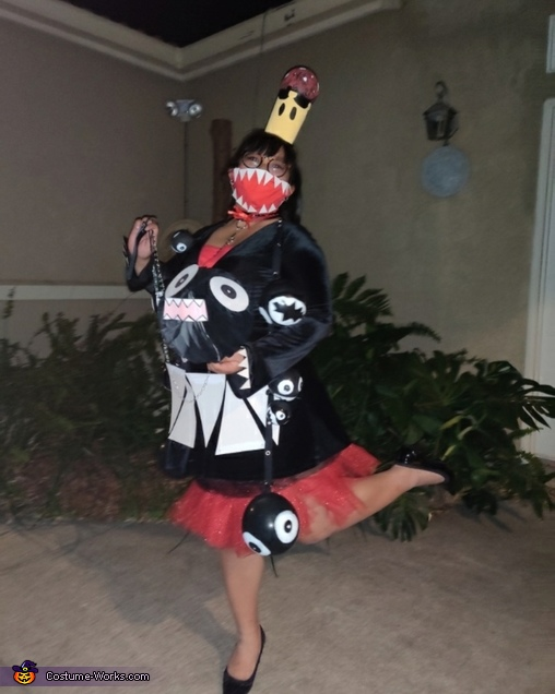 Chompette from Super Mario Homemade Costume