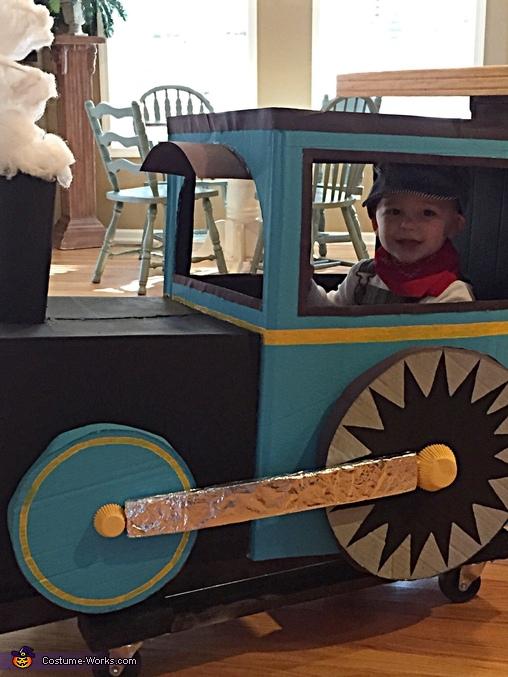 Choo-Choo Train & Engineer Costume
