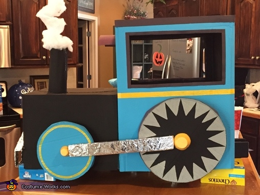Choo-Choo Train & Engineer Homemade Costume