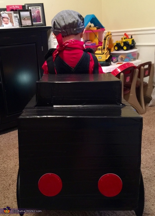 Rear, Choo Choo Train Costume